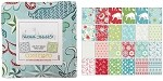 Charm Pack 5x5 Squares - Benartex Nordic Holiday - 40 5