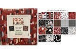 Charm Pack 5x5 Squares - Benartex Perfect Blend Red - 40 5