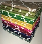 Fat Quarters - Quatrefoil Mix - 20 Total Fat Quarters