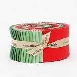 Confetti Cotton Christmas Palette for Riley Blake - 40 Strip Rolie Polie