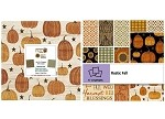 Charm Pack 5x5 Squares - Benartex Welcome Fall Rustic Fall  - 40 5