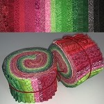 Limited Edition Seeded Watermelon Bundle - 40 Strips Total, Set of 2 Rolls