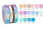 Robert Kaufman Artisan Batik Serendipity Roll-up - 40 Strip Roll