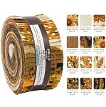 Robert Kaufman Shades of The Season Roll-up - 40 Strip Roll