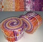 Limited Edition Quilting Treasures Soiree Bundle - 40 Strips Total, Set of 2 Rolls
