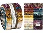 Robert Kaufman Artisan Batiks: Sorrento Roll-up - 40 Total Strips