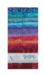 Island Batik - Soul Song - 20 Fabrics, 40 Total Strips