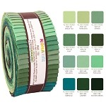 Robert Kaufman Kona Cotton Spring Meadows Roll-up - 40 Strip Roll