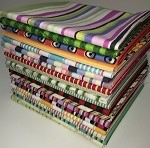 Fat Quarters - Designer Stripe Mix - 20 Total Fat Quarters