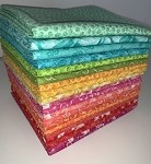Summer Breeze Fat Quarter Bundle - 20 Fabrics, 20 Total Fat Quarters