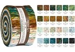 Robert Kaufman Artisan Batik Tavarua Roll-up - 40 Strip Roll