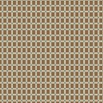 (2 yd) Andover Emilie Rose Brown Plaid 7738
