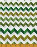 (2 yd) Andover Crinkle Stripe Green