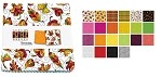 Charm Pack 5x5 Squares - Benartex Autumn Breeze - 40 5