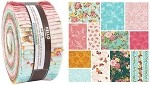 Robert Kaufman Lady Elizabeth Spring Colorstory by RK Studio Roll-up - 40 Total Strips