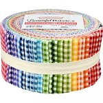 Beautiful Basics Classic Check Roll - Maywood Studios - 40 Strips