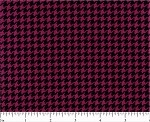 (2 yd) Michael Miller Plum/Navy Tiny Houndstooth