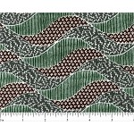 (2 yd) Andover Barbados Green/Brown Wave