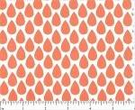 (2 yd) Michael Miller - Quinn Peachy Orange Drops