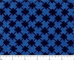 (2 yd) Michael Miller Picot Royal/Navy