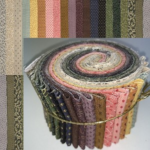 "Andover Trinkets Collection 2.5"" Roll - 20 Strips"
