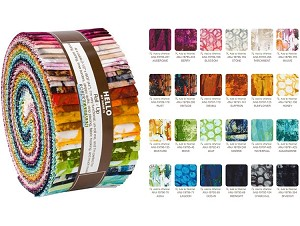 Robert Kaufman Warehouse District Roll-up - 40 Strip Roll