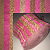 "2-Tone 2.5"" Roll - Warm Brown/Bright Pink - 10 Fabrics, 20 Total Strips"